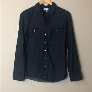 J Crew Denim Buttondown